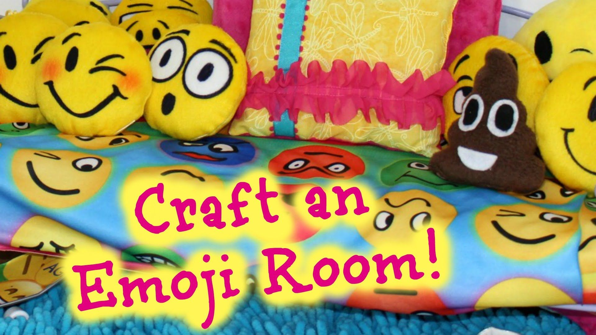 How To Make American Girl Doll Emoji Bedroom