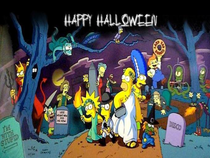 Simpsons Happy Halloween Halloween Pinterest