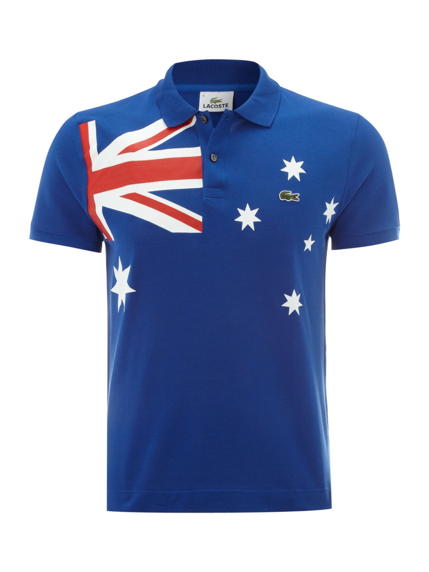 Lacoste Slim fit Australia flag polo shirt Men My Kind