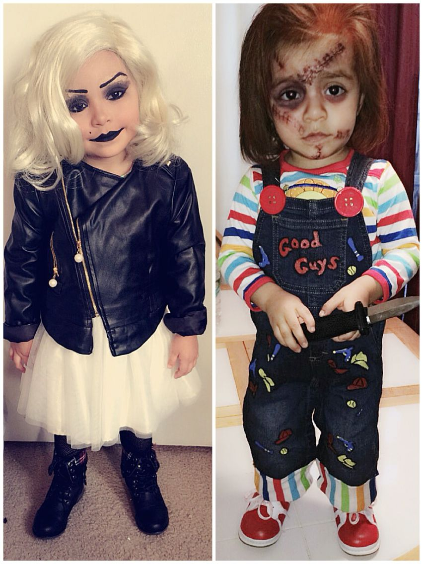 Chucky and Tiffany BrideofChucky Halloween Costumes