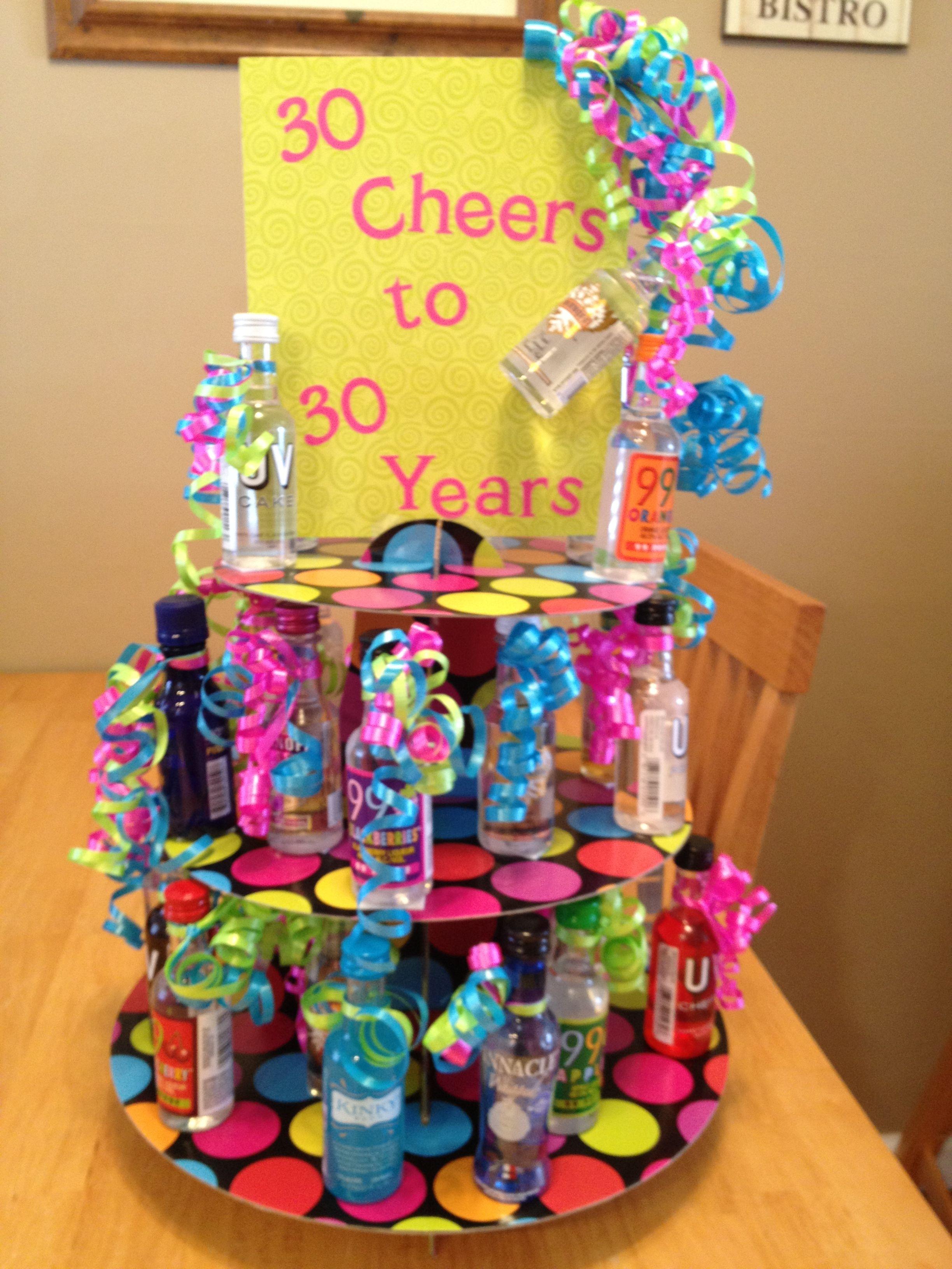 30 Cheers to 30 Years! 30th Birthday gift Birthdays