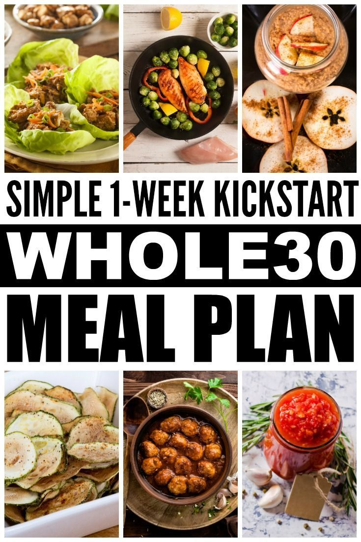 What is the Whole 30 challenge anyway? This simple yet comprehensive Whole 30 Eating Plan offers a complete week 1 kick start