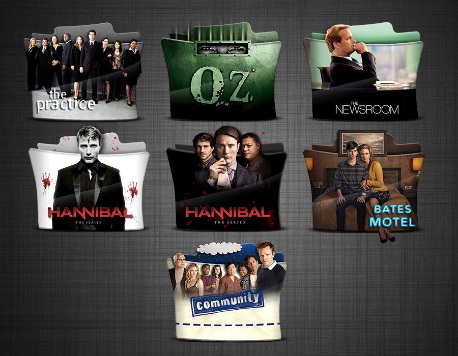 TV Series Folder Icons (mini) pack 2 HD by stavrosvran