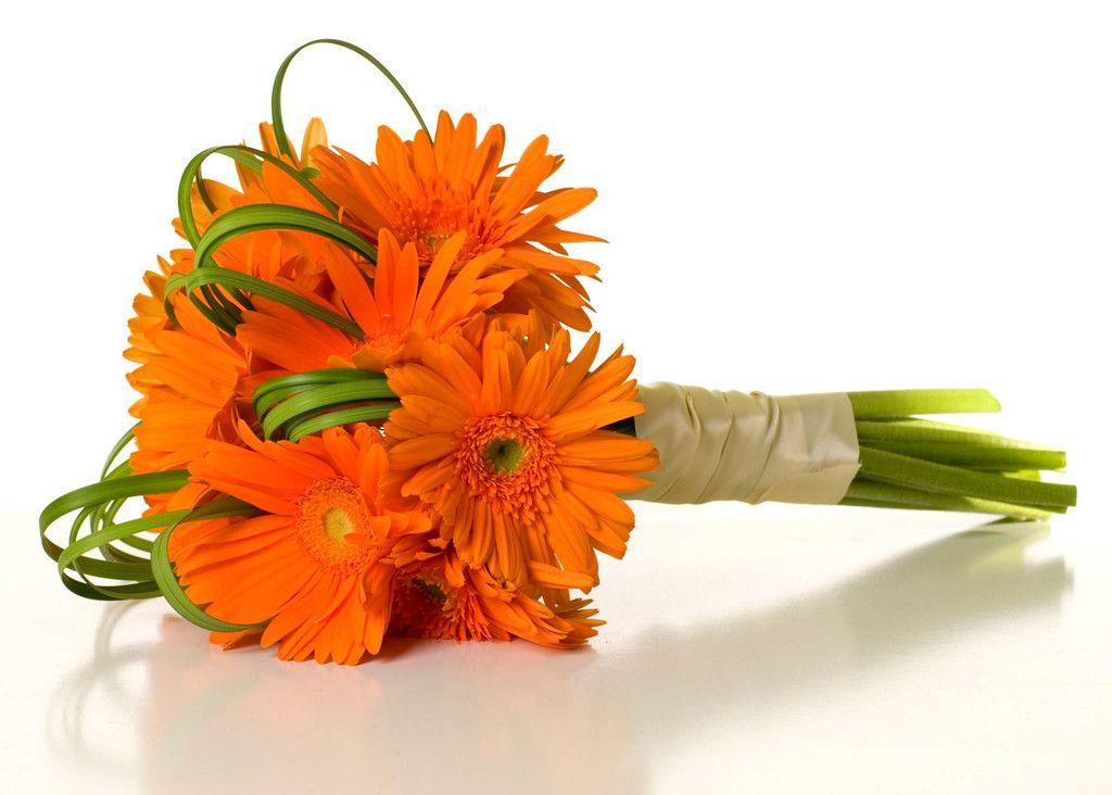 Orange Carnation Bouquet