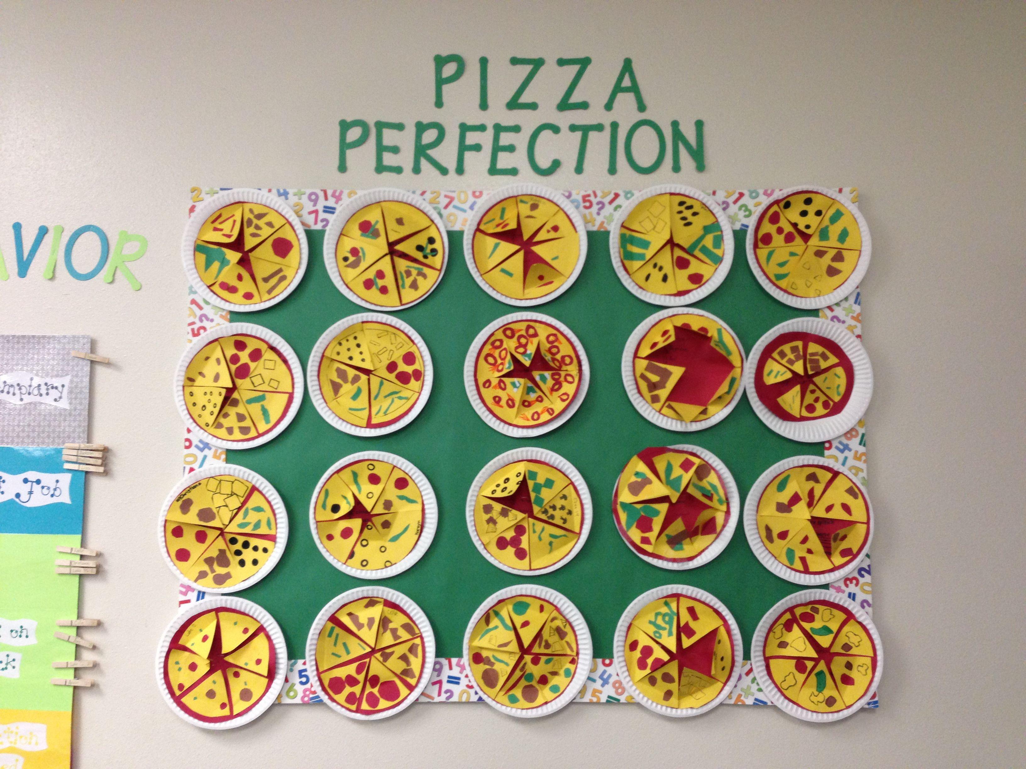 Fraction Pizza 4th Grade