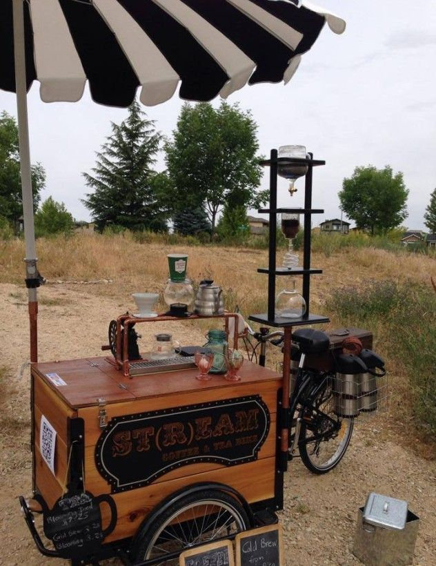 Coffee Tricycle build by Icicle Tricycles Food Truck