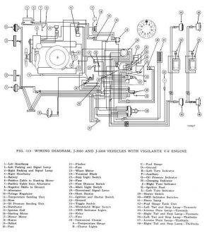 Wiring Diagram   1963 Jeep J300 Gladiator Truck Build