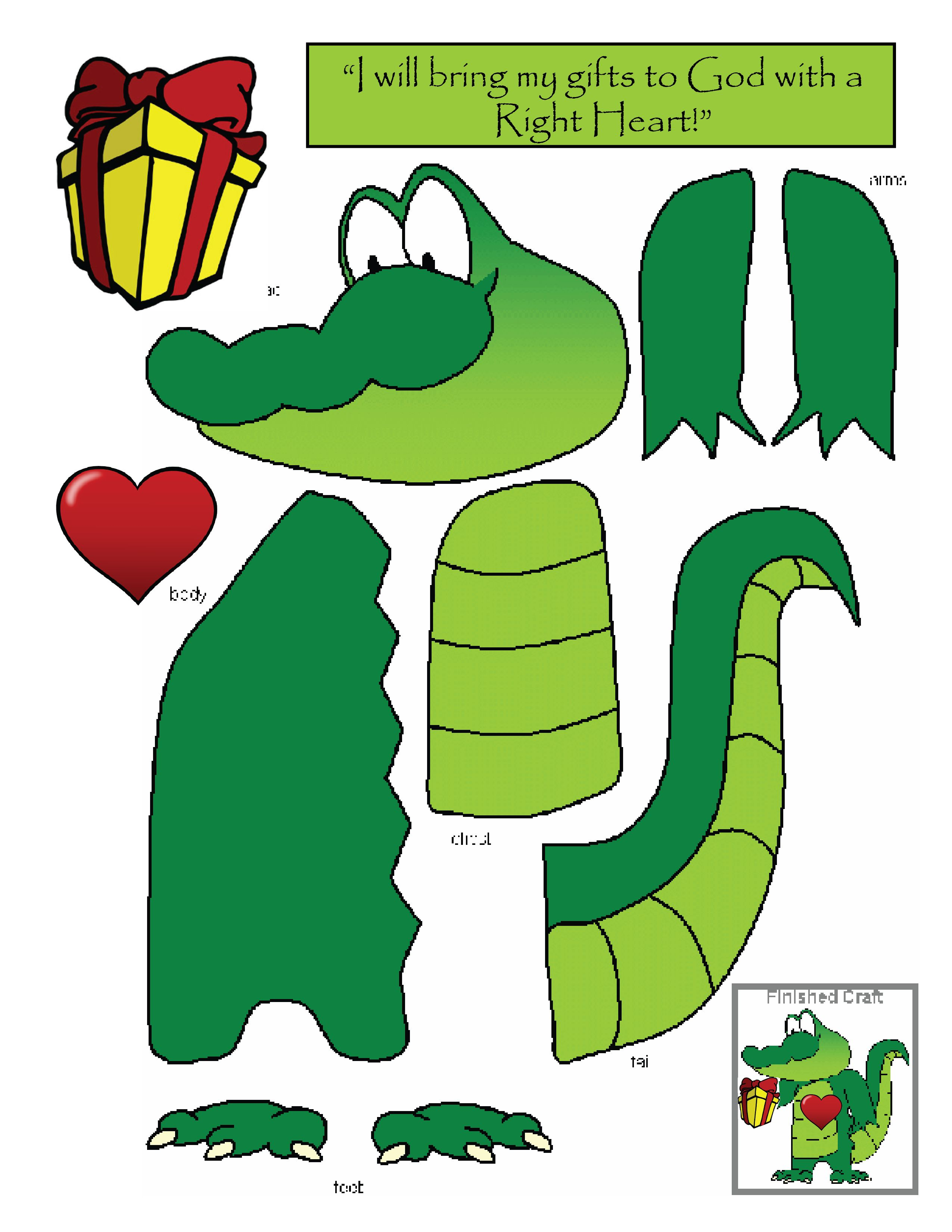 Swamped In Faith Alligator Craft For Cain Amp Abel Lesson