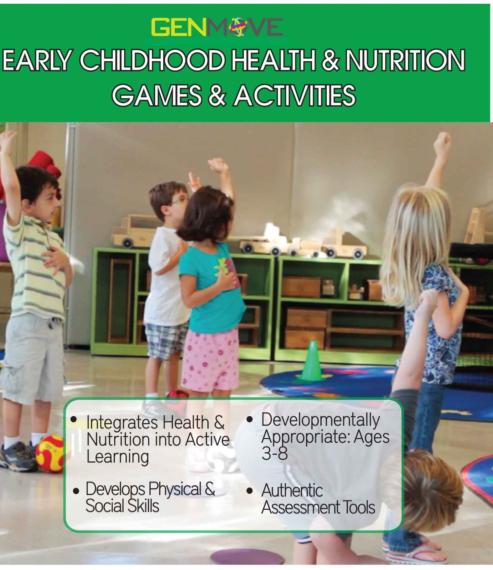 Early Childhood Health Amp Nutrition Games Amp Activities Book Start Teaching Health Amp Nutrition