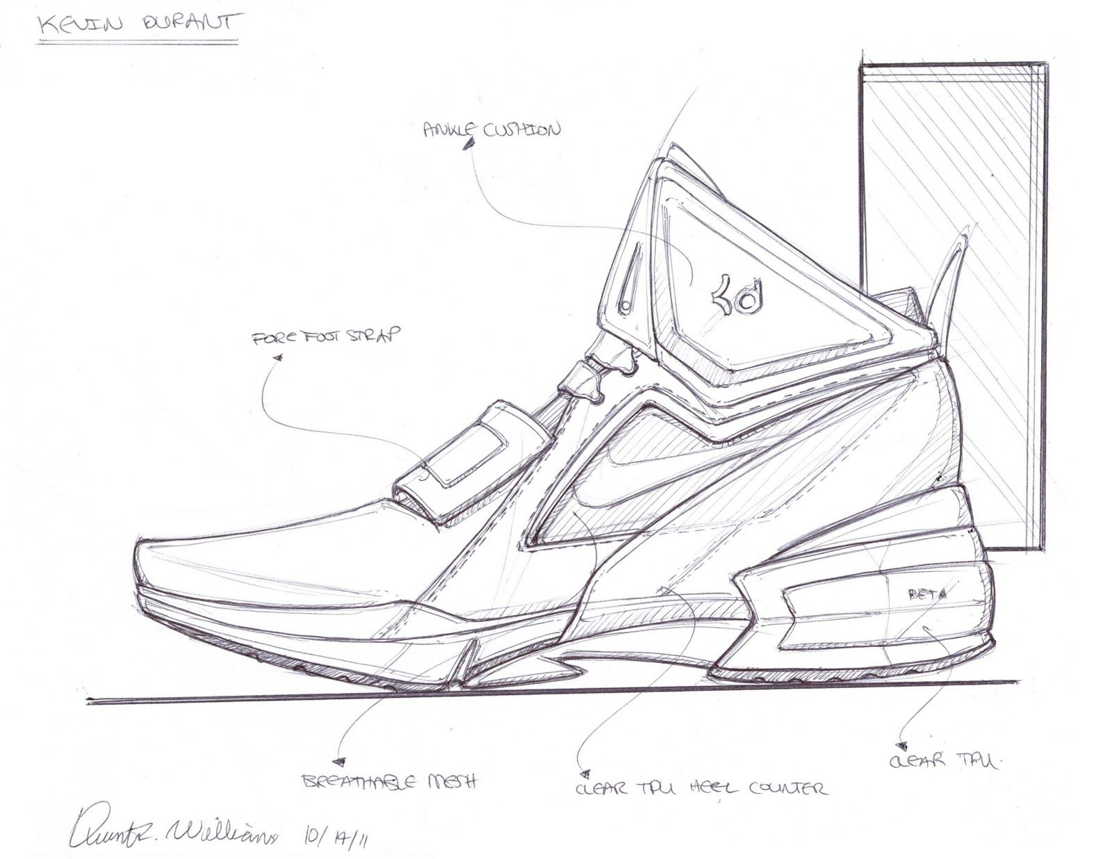 Coloring Pages Of Kd Shoes. basketball shoes coloring pages ...