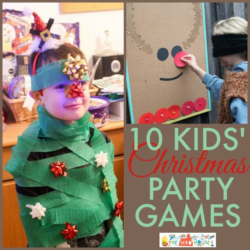 Christmas Party Games Kids party games, Party games and