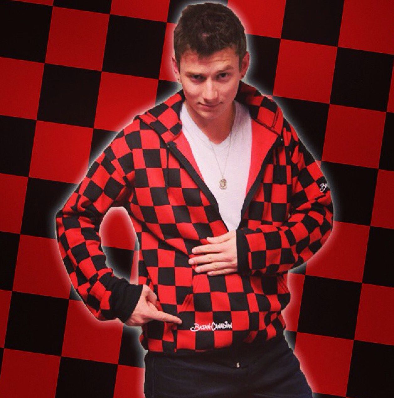 BajanCanadian red and black checkered jackets. BUY MT THIS