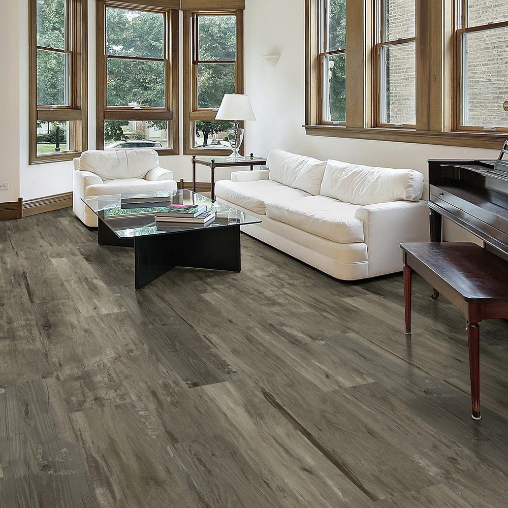 8.7 in. x 47.6 in. Rustic Wood Luxury Vinyl Plank Flooring