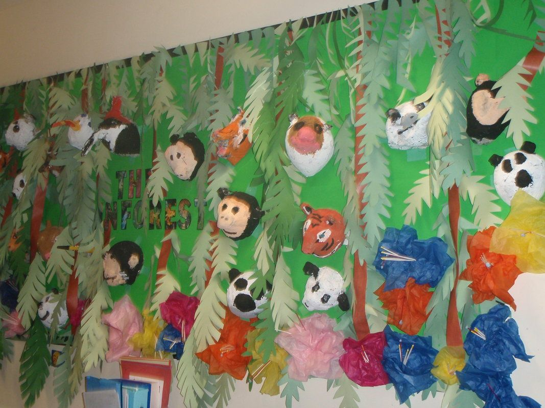 Jungle Classroom Displays