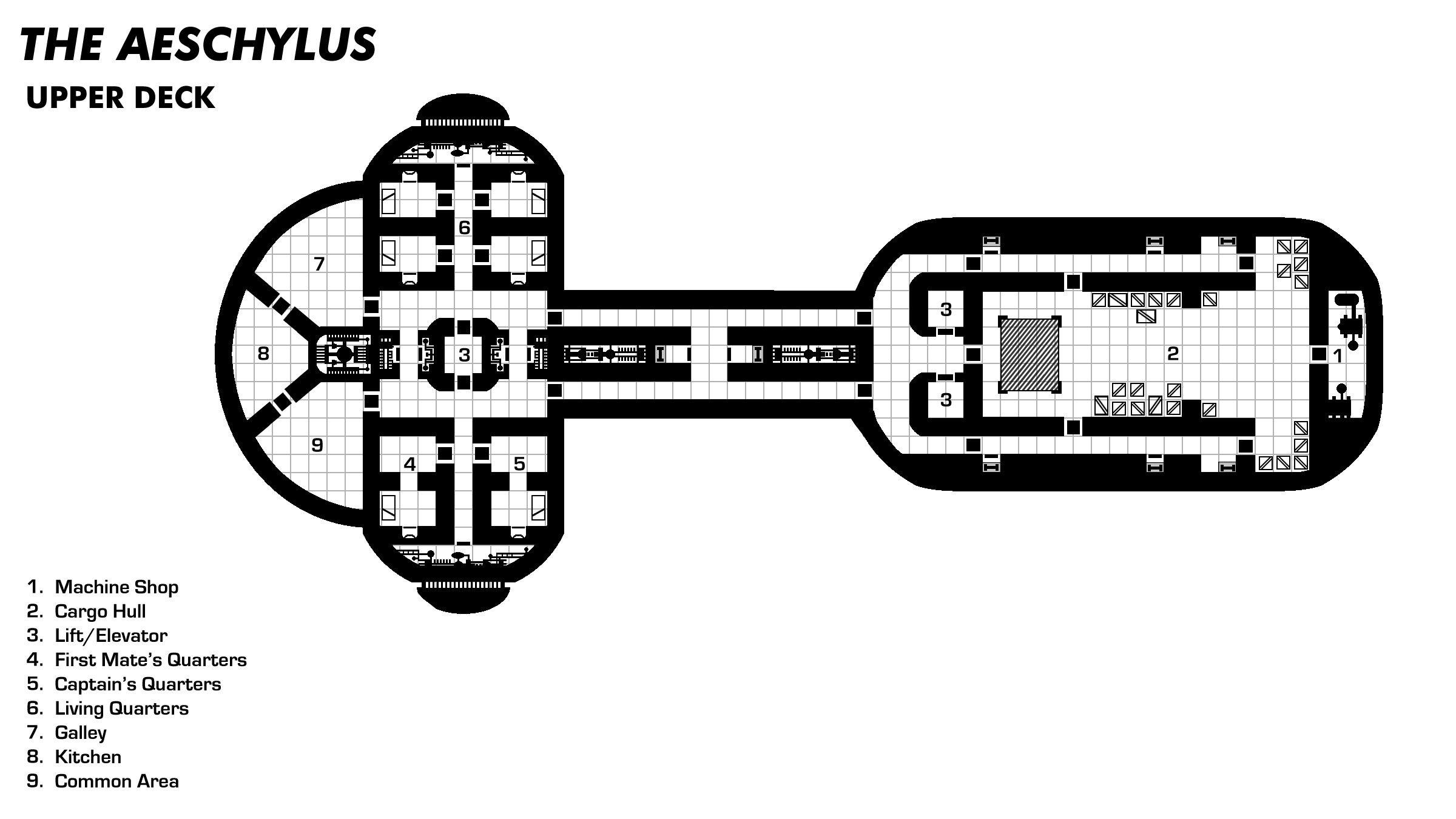 Aeschylus Upperdeck