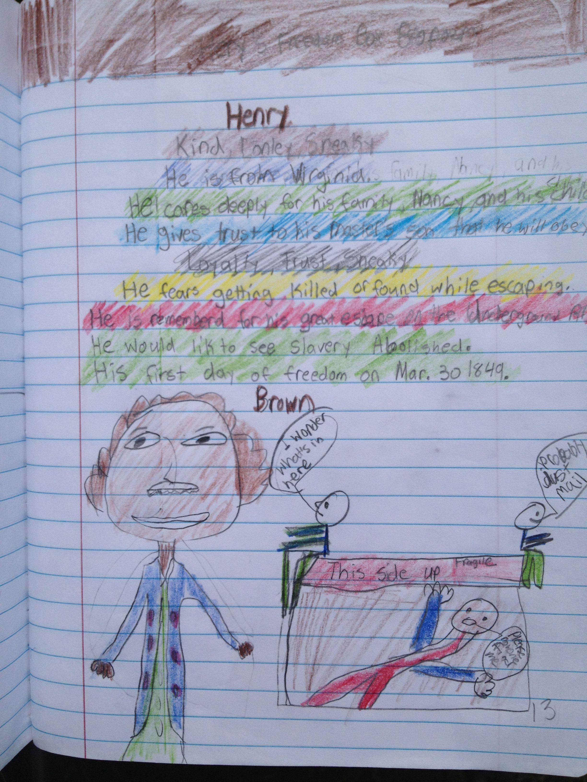 Bio Poem Henry S Freedom Box