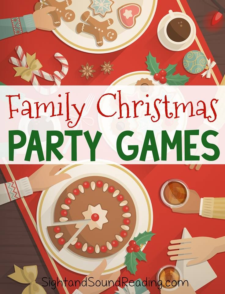 Fun Family Party Games! Christmas party games, Family