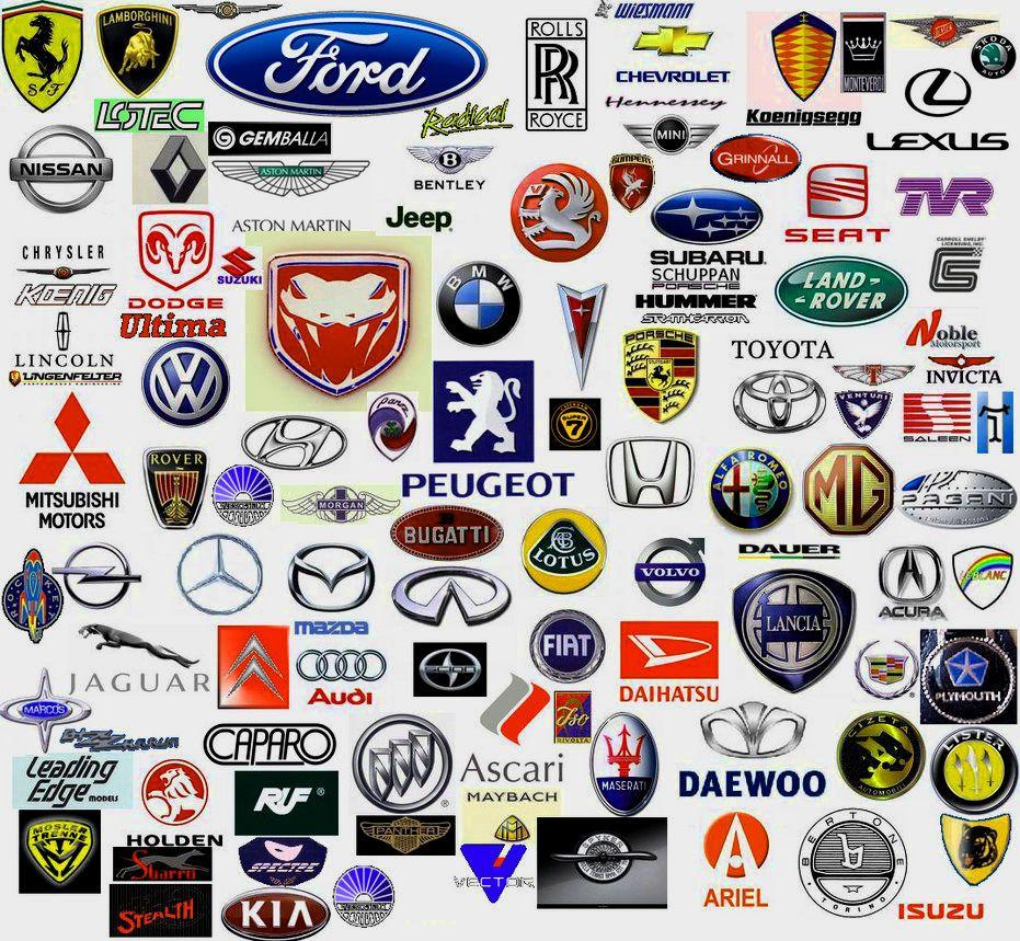 All Cars Logo With Name Brand & Logo Pinterest Car