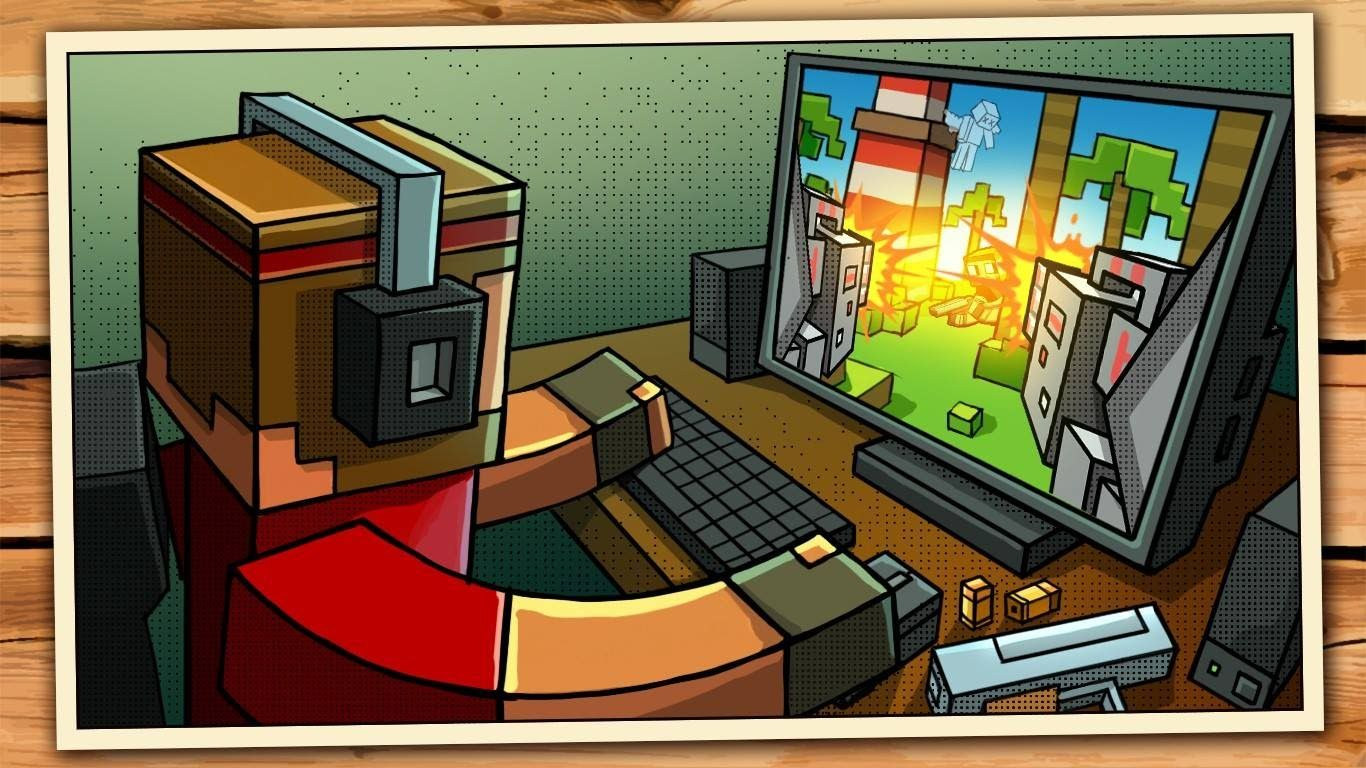 Pixel gun 3D on PCPixel Gun world (beta acess) YouTube