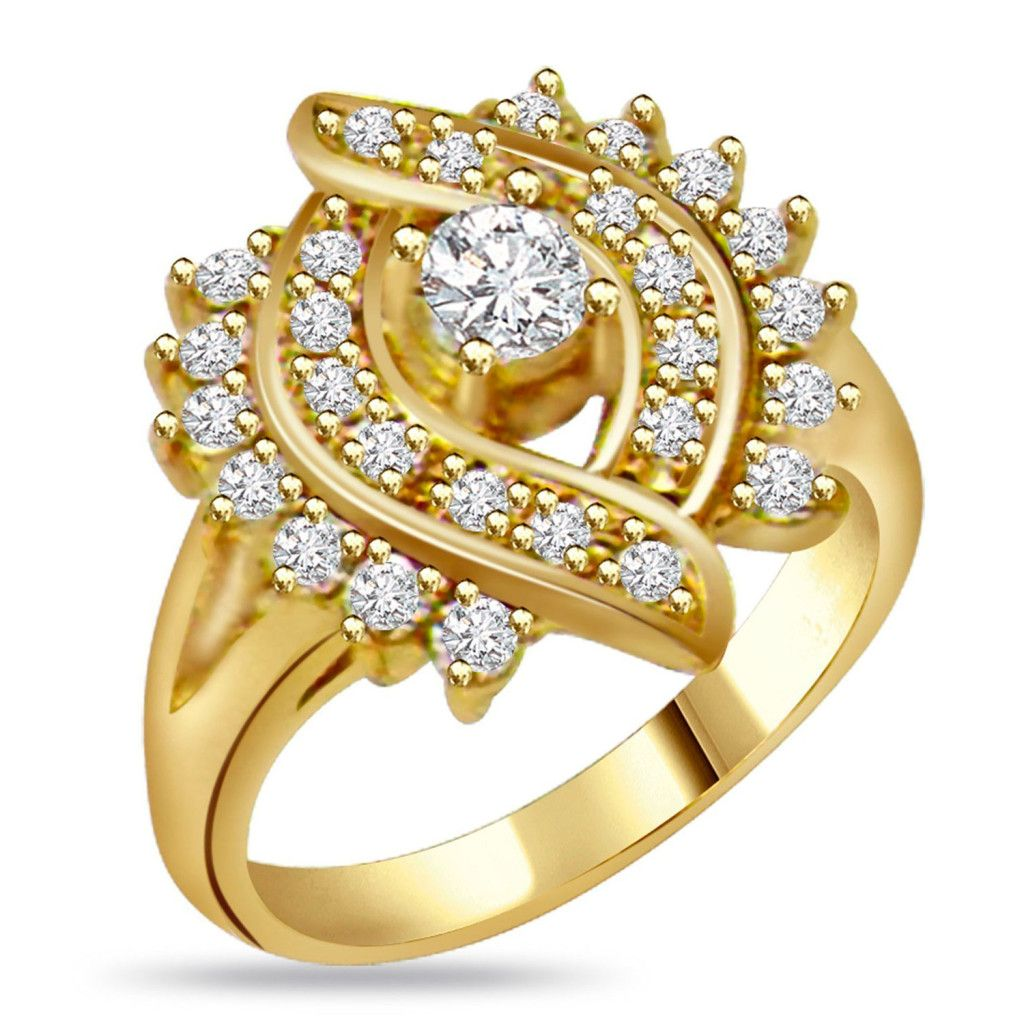 Dual circle ring design new ring Pinterest Gold