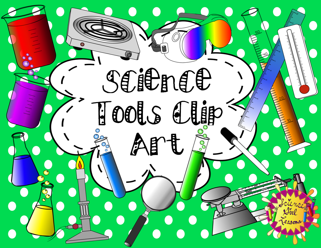 Science Tools Clip Art Mega Pack