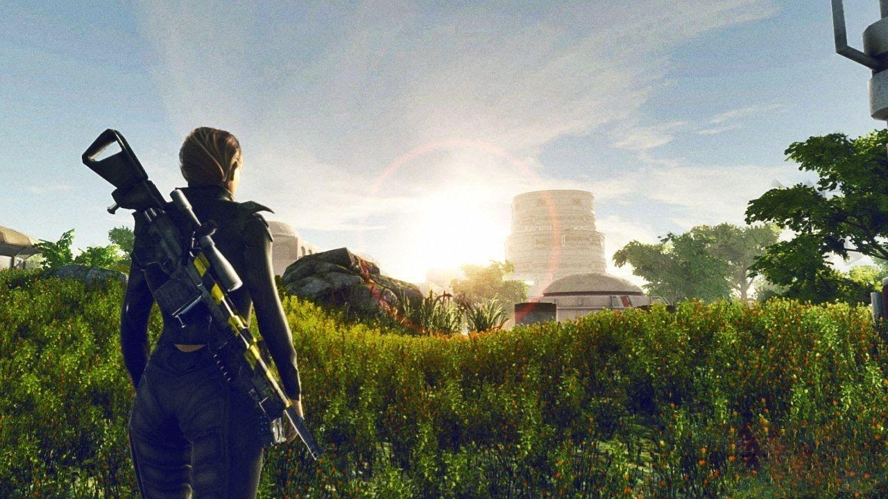 Freeman Star Edge First Gameplay Demo Open World Sci