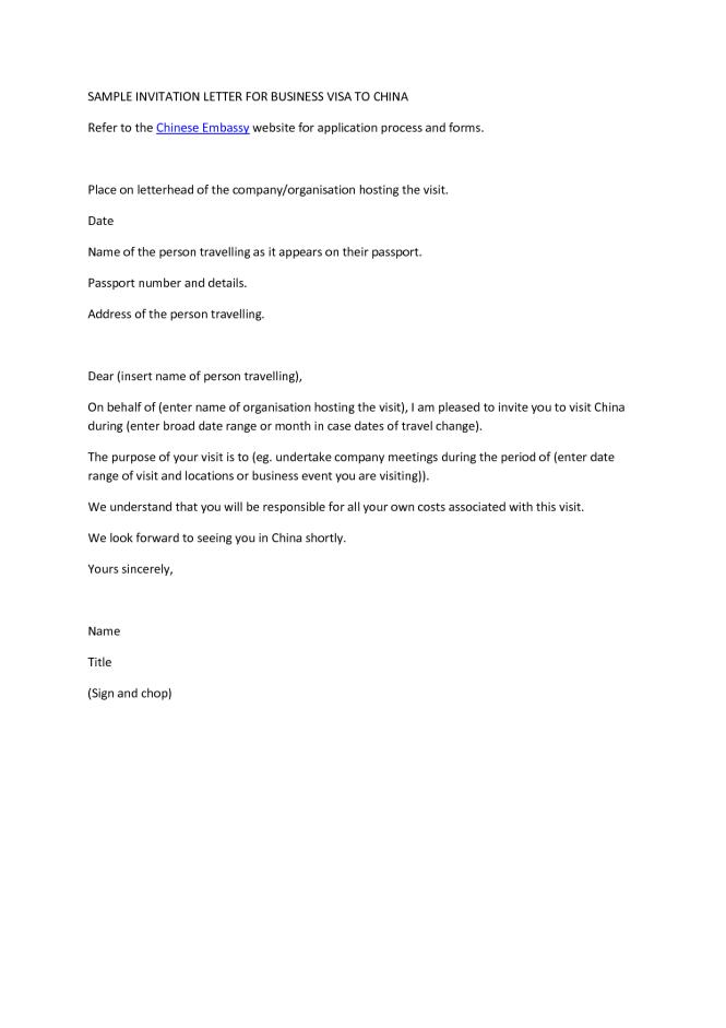 Visa letter sle uk 100 images china business visa confirmation visa letter sle uk how to write a business invitation letter for uk visa the best stopboris Images