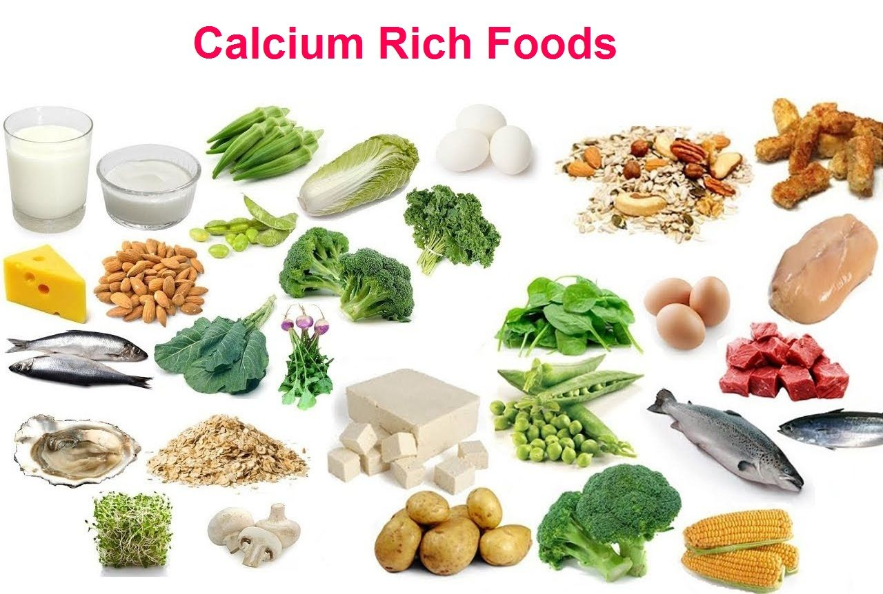 Natural Sources of Calcium in Food Sources of Minerals