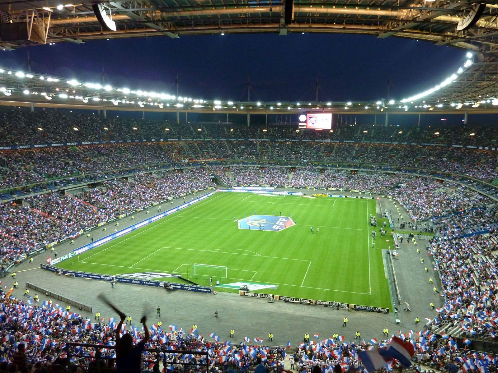 Estadio de Francia, SaintDenis, Francia Capacidad 81 338