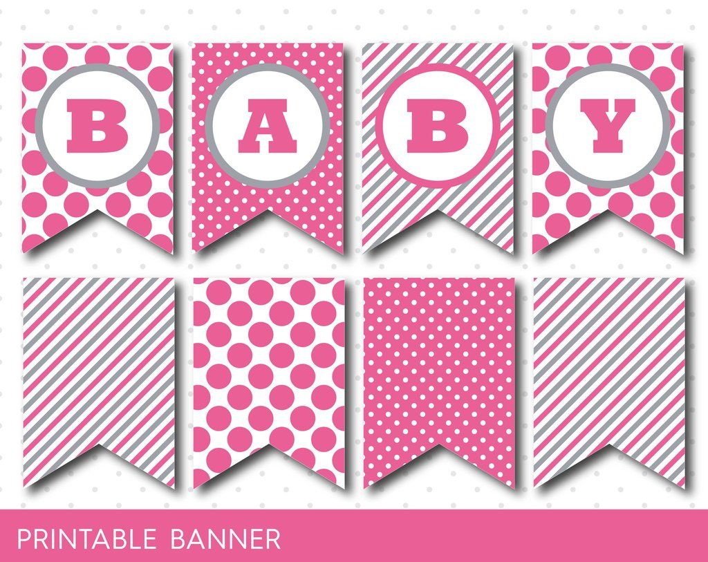 Free Printable Letters For Baby Shower Banner