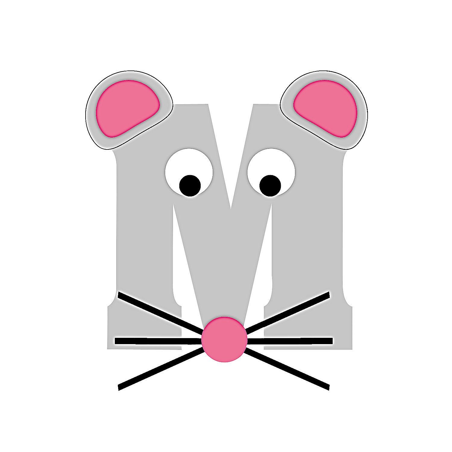 M Is For Mice Craft Kit