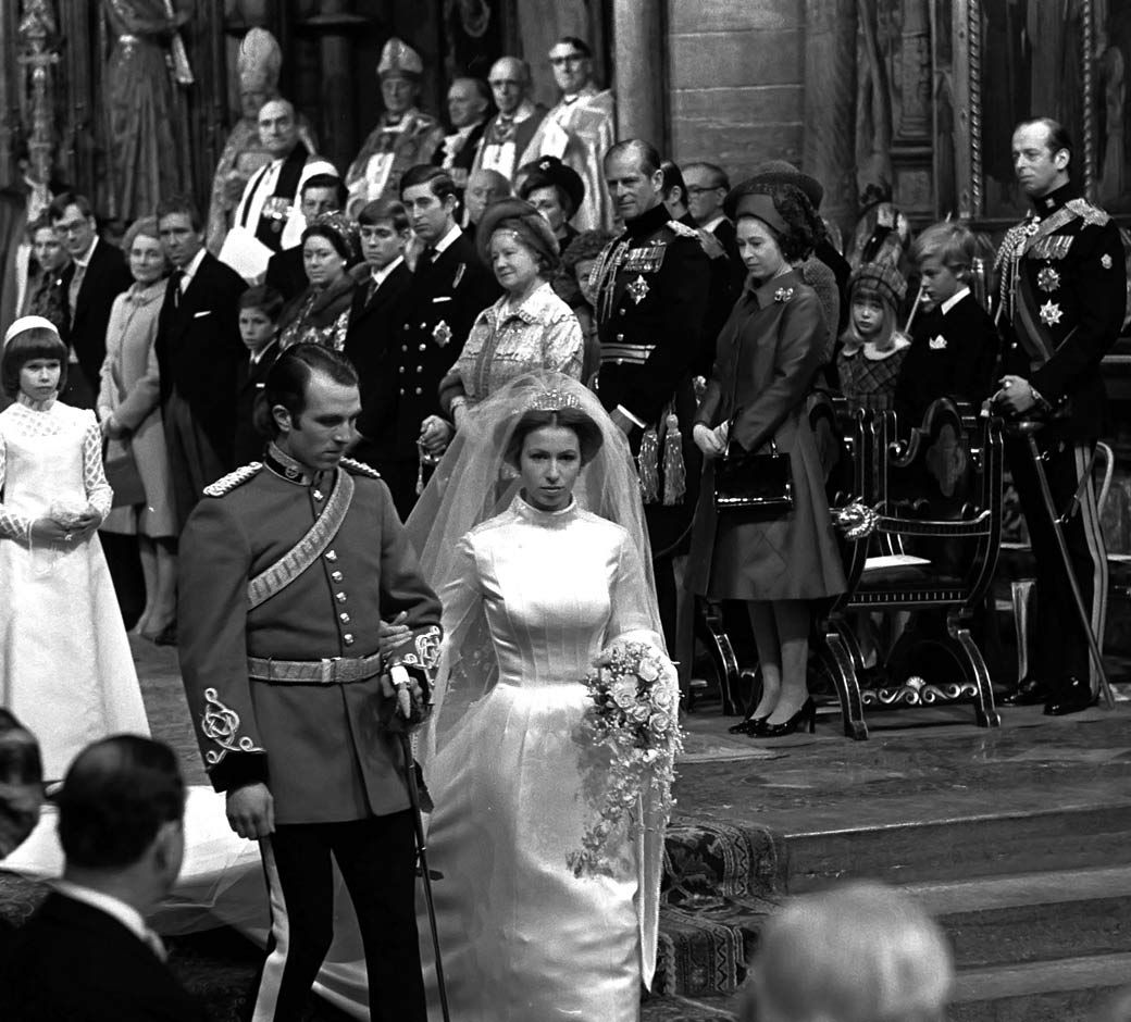 Capitán Mark Anthony Phillips & Princesa Ana del Reino