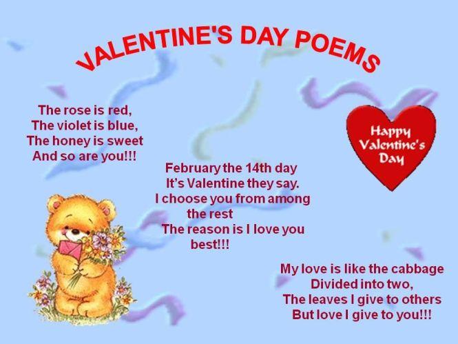 valentines day 2017 short poem hy - Short Valentines Poems