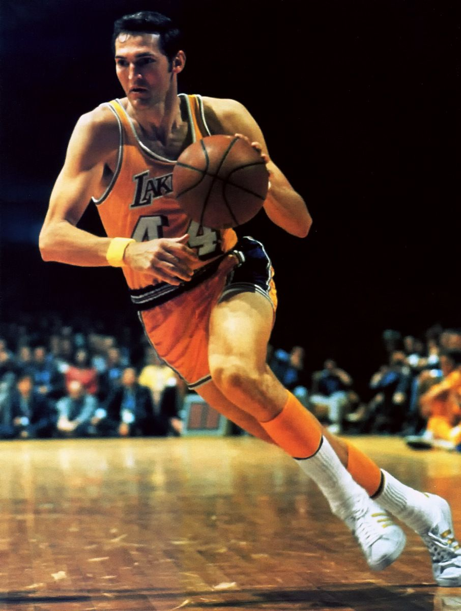 Jerry West a.k.a. The Logo JERRY WEST 44 Pinterest
