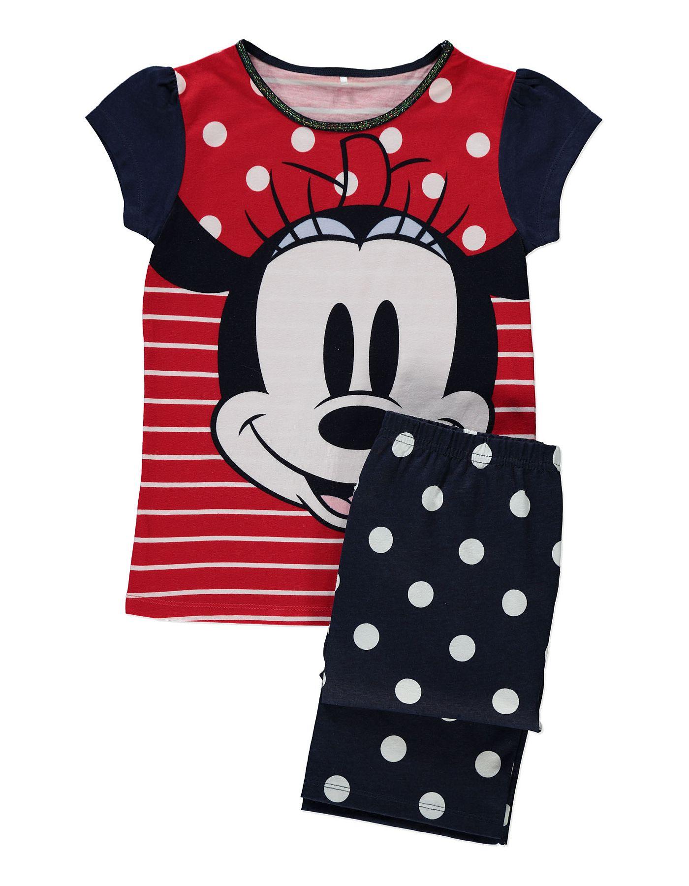 Minnie Mouse Pyjamas Girls at ASDA Disney