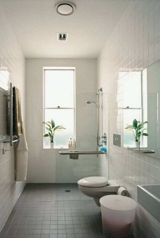 bathroom small narrow bathroom ideas tub shower popular narrow