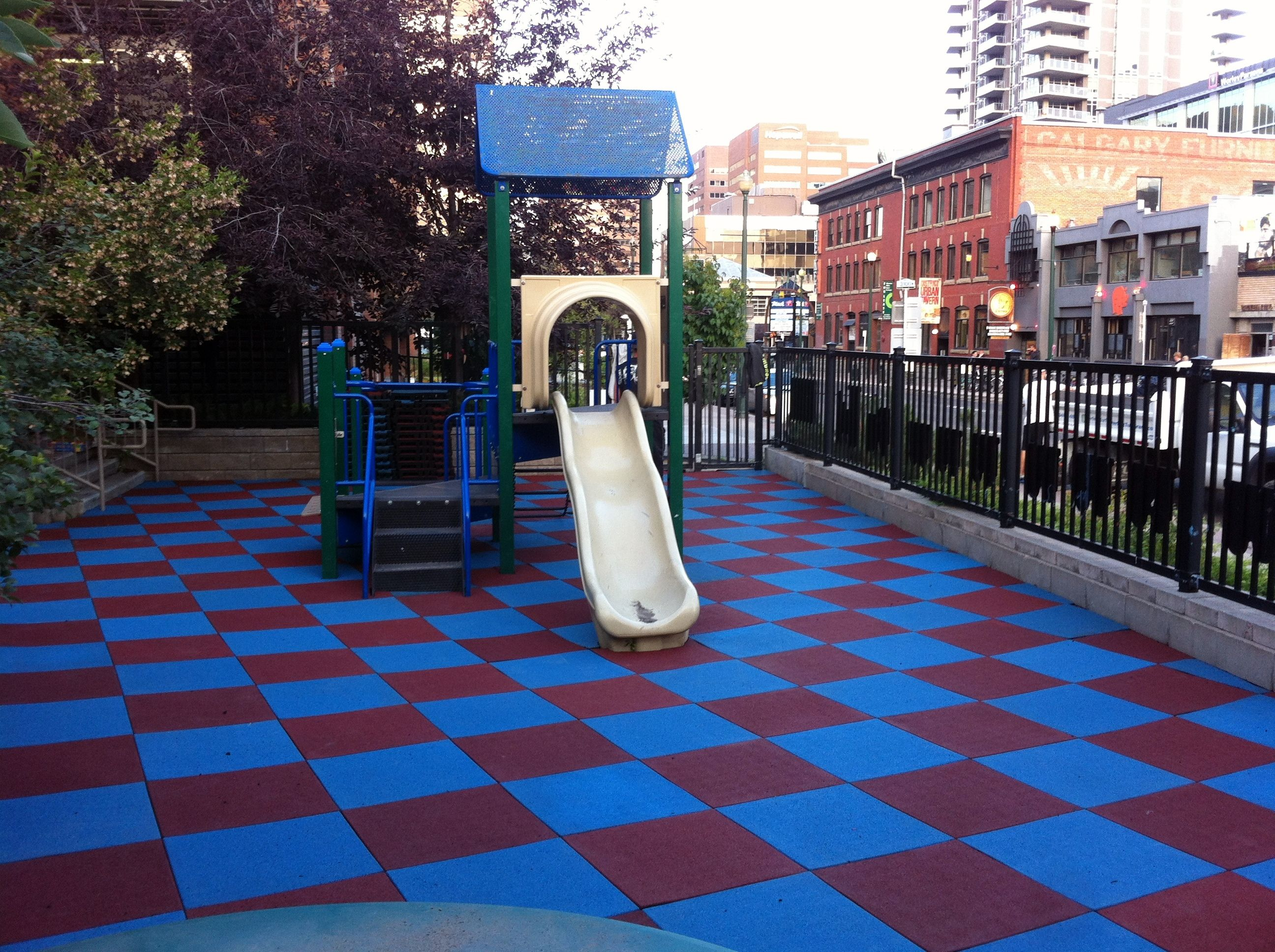 Rubber Floor Tiles Outdoor for Playground Playground