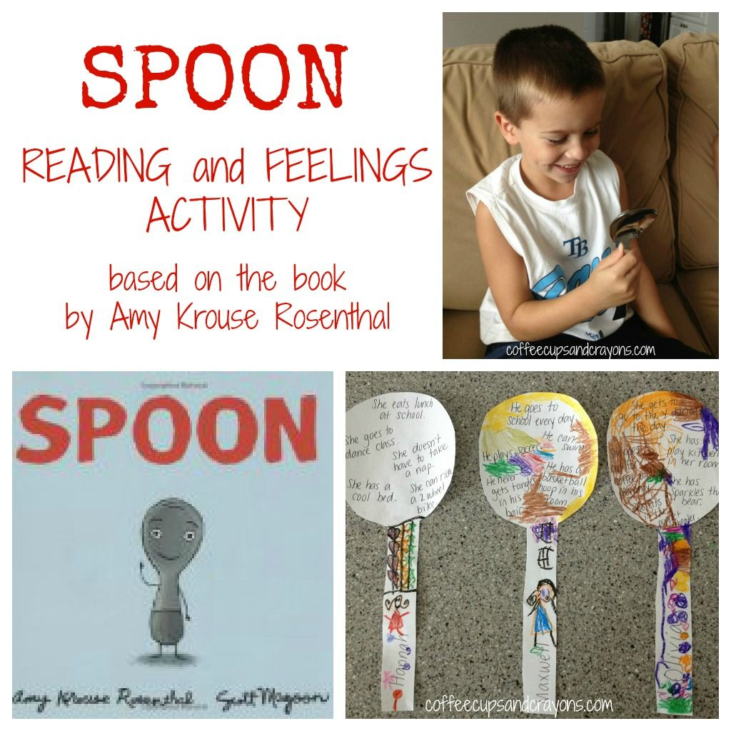 Spoon Feelings Activity For Kids