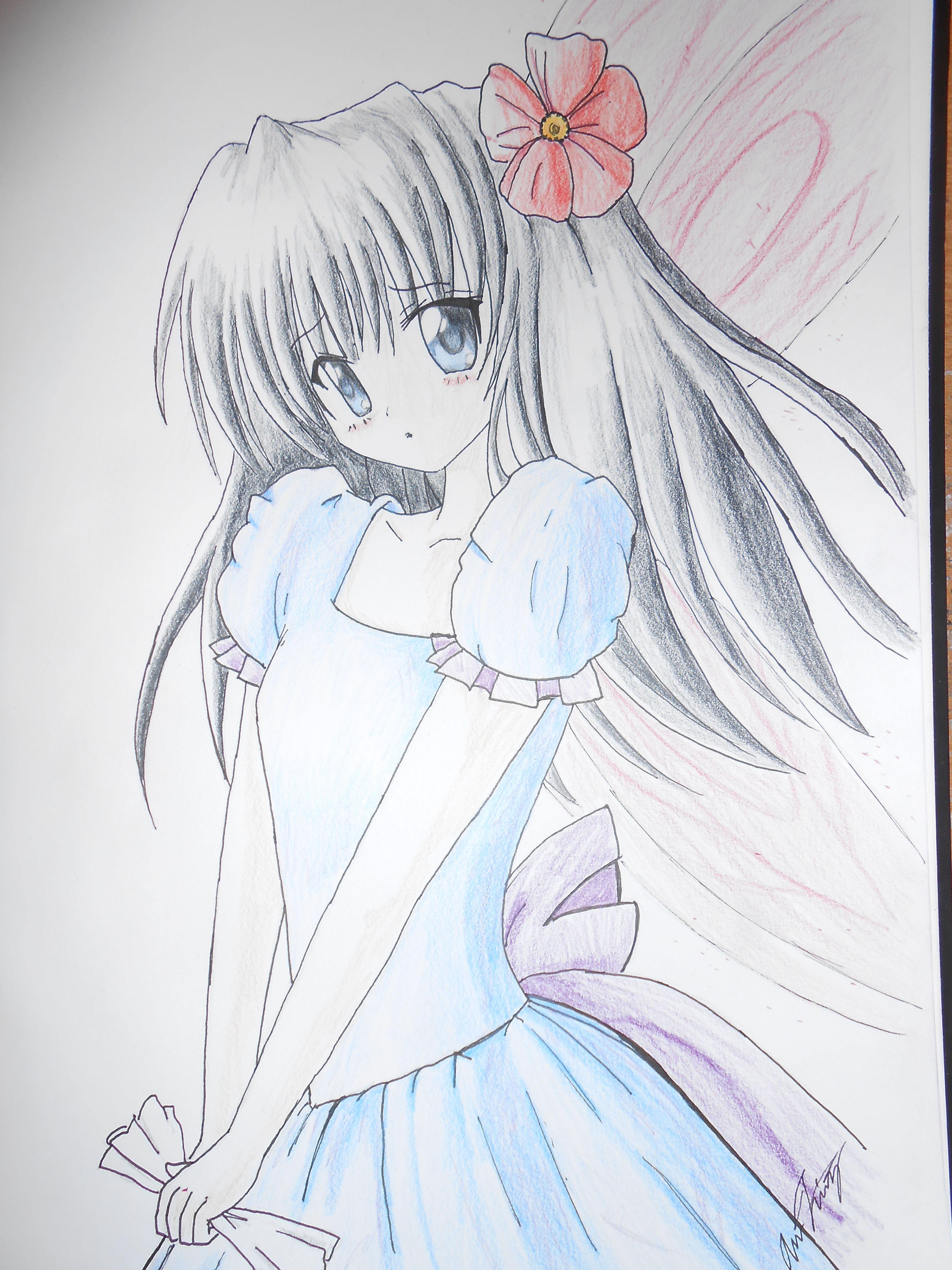 anime drawings in pencil easy Anime Drawings Pinterest