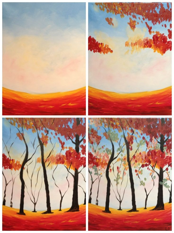 """painting with a twist evolutions Evolution of """"Colors of"""