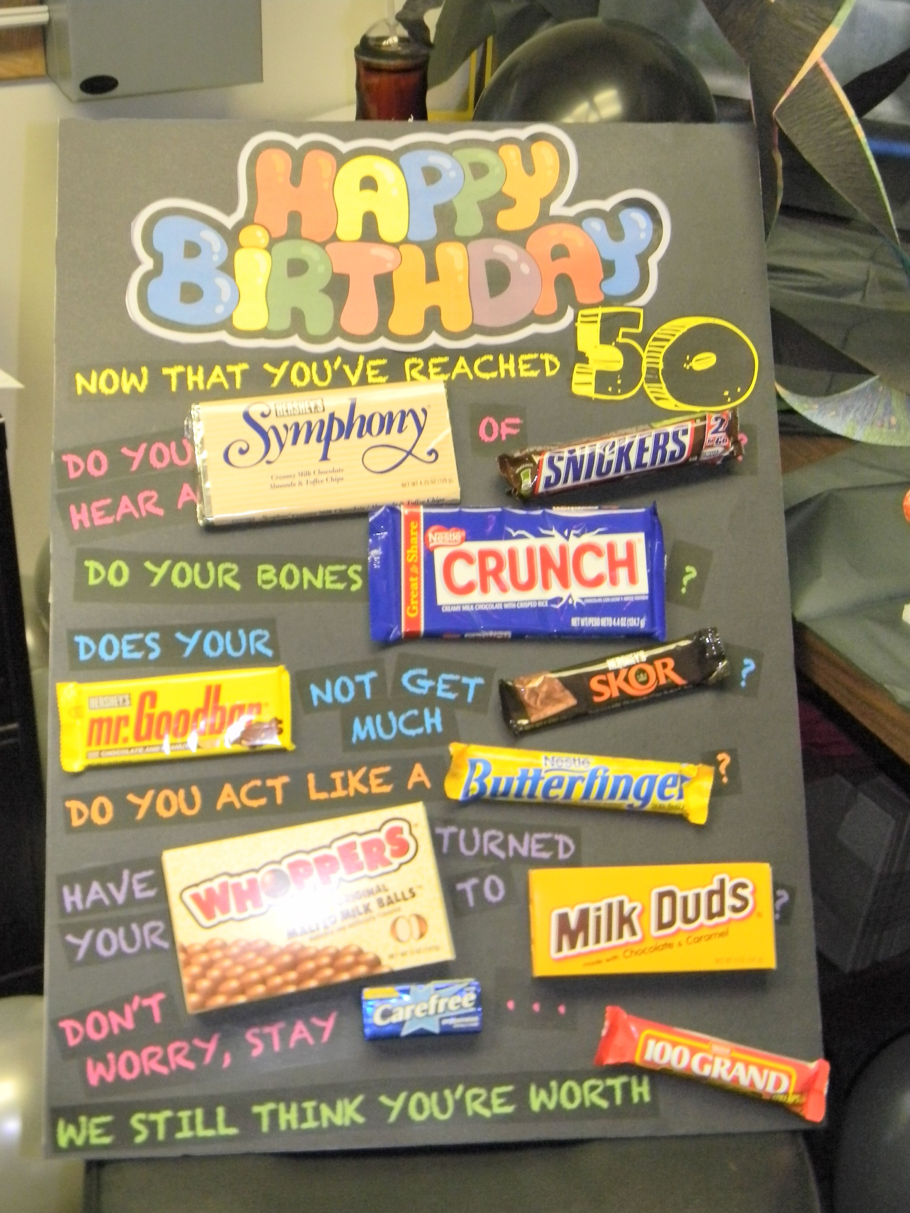 50th Birthday Gift Ideas 50th birthday cards, 50th and
