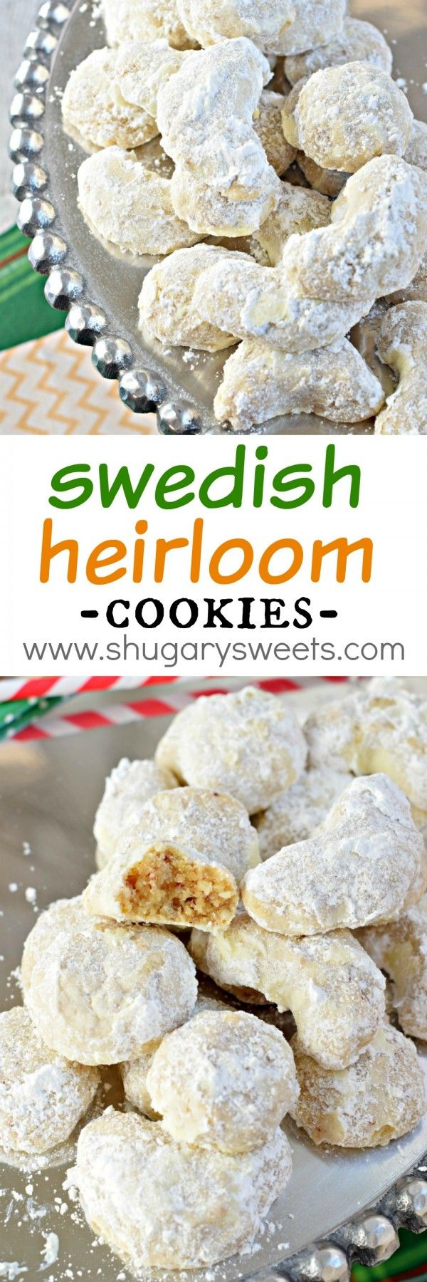 Swedish Heirloom Cookies Recipe Other, Almonds and