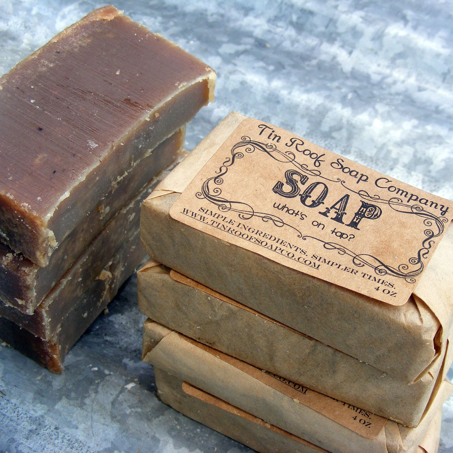 love the packaging of the soap. LOVE soap..period! Soap