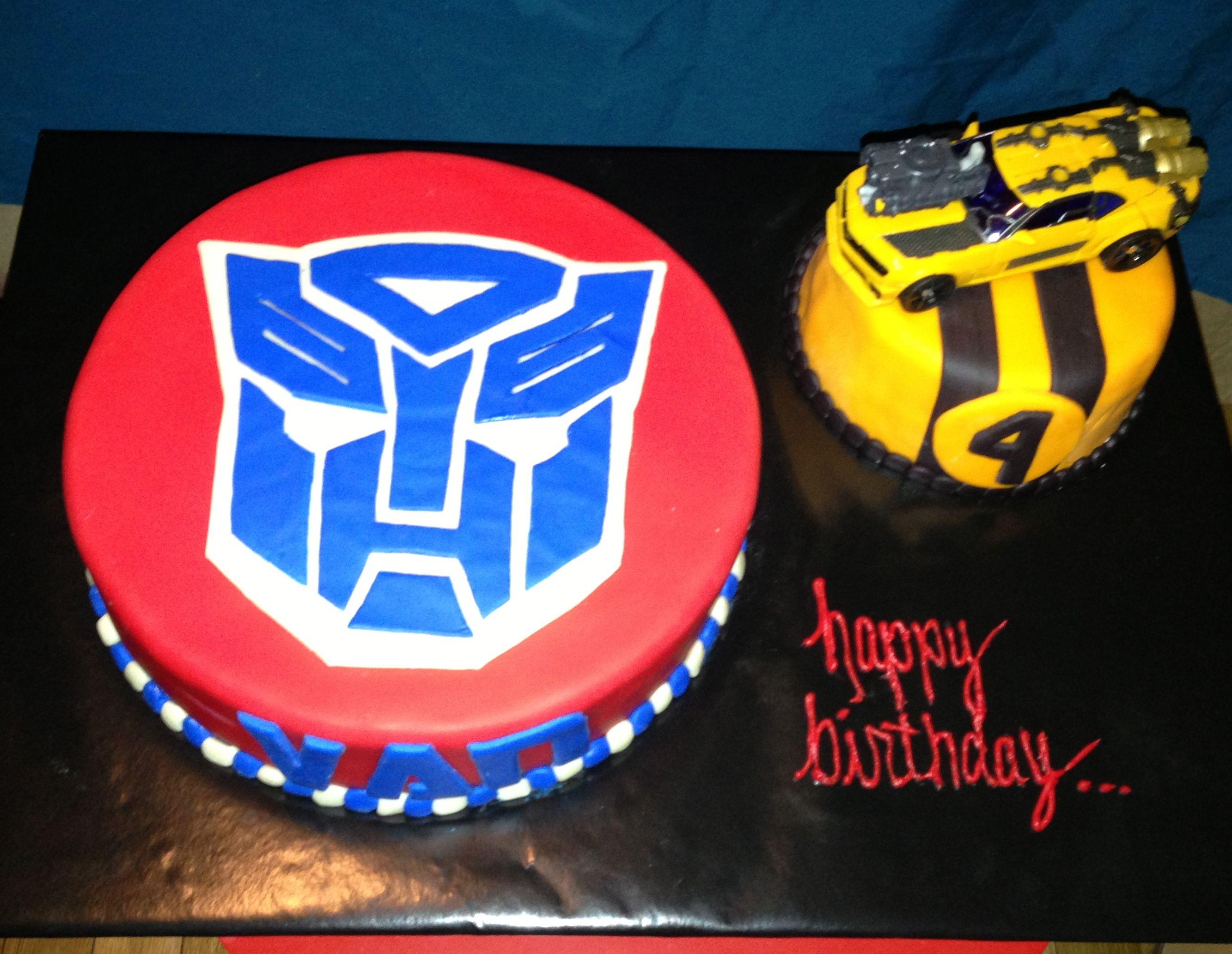 Transformer Cake Optimus Prime