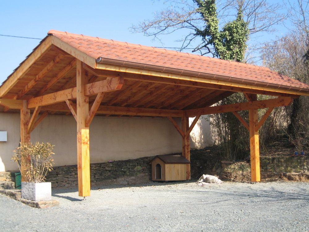 Découvrez nos abris de voiture en bois ou carport pour