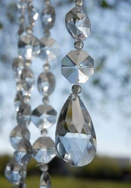 Bring A Little Or Lot Of Sparkle To Your Venue Using Crystal Garlands And Curtains