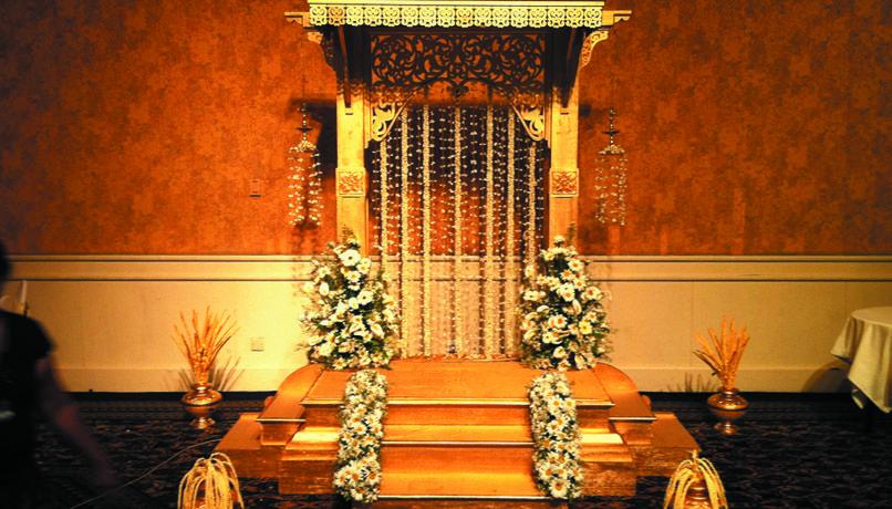 Wedding Poruwa 2 My Gold/Green Wedding Pinterest