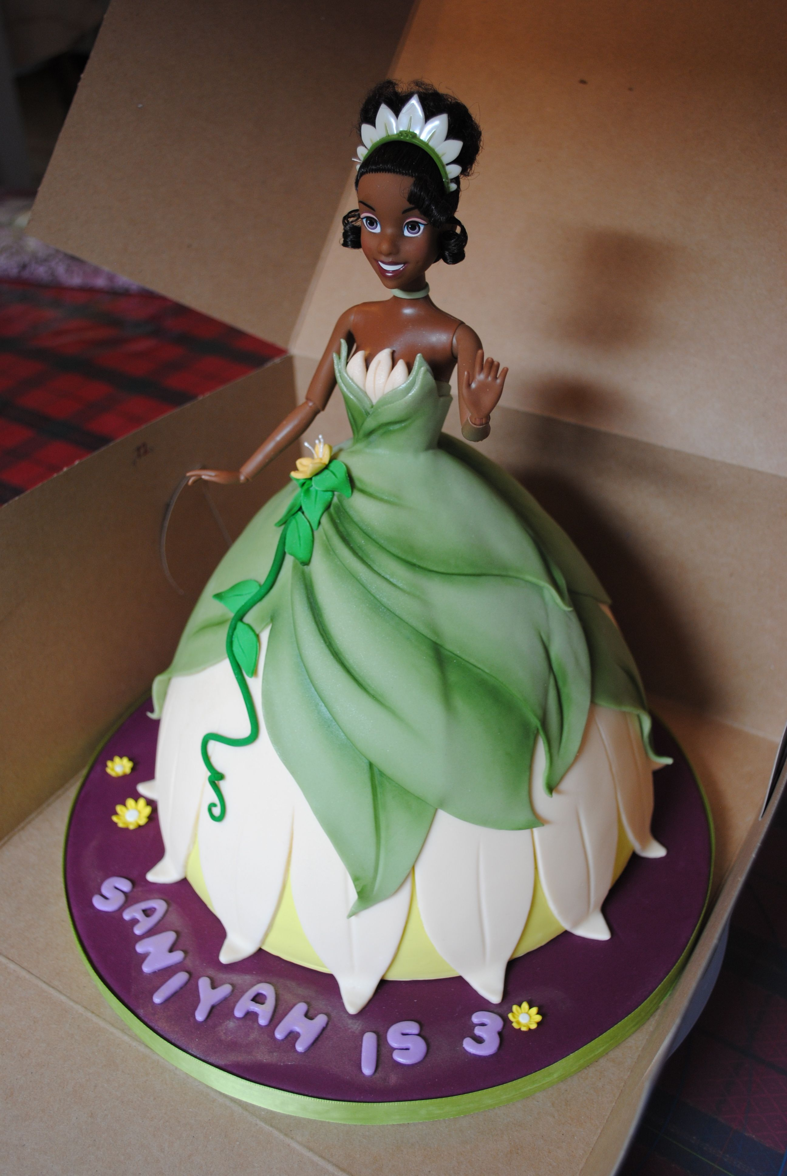 Great Idea Princess Tiana Bday Cake For My Little Girl