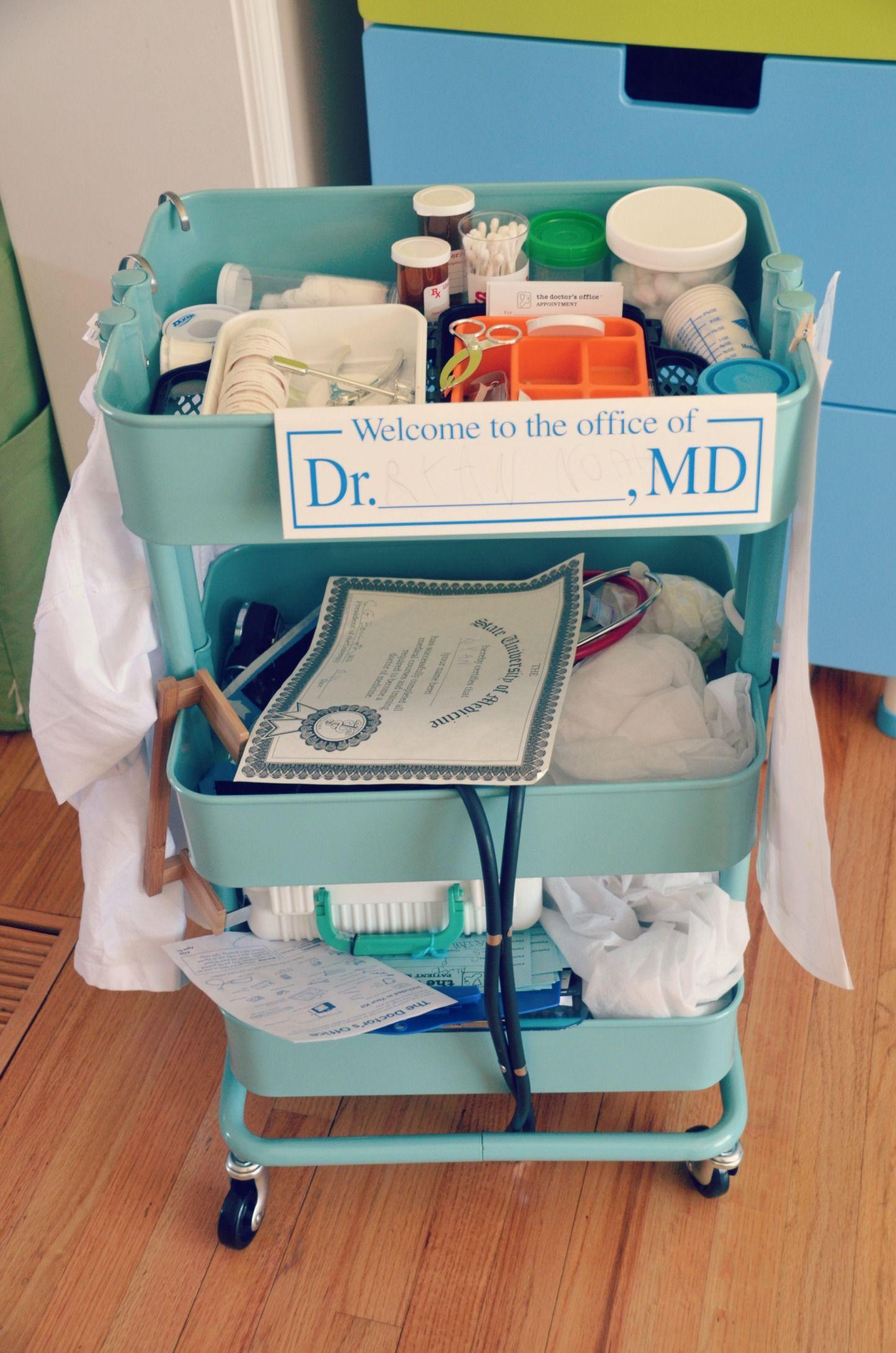 Amazing Pretend Play Doctor S Cart