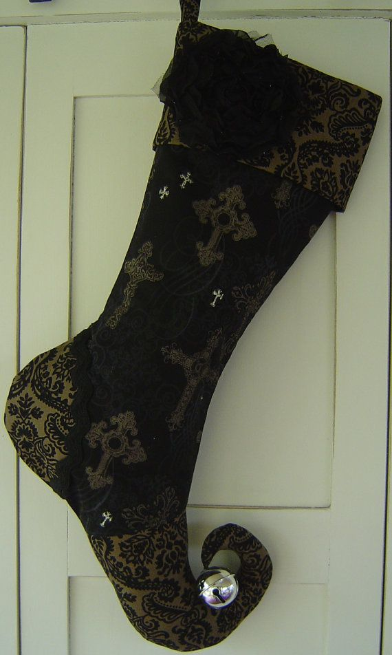 Halloween Stockings On Pinterest Christmas Stockings